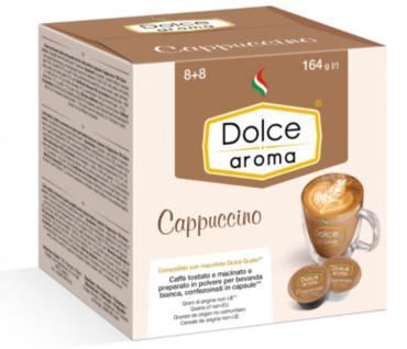 Кофе в капсулах Dolce Aroma CAPPUCCINO Dolce Gusto (16 шт)