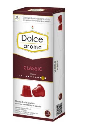 Кофе в капсулах Dolce Aroma Classic Nespresso (10 шт)