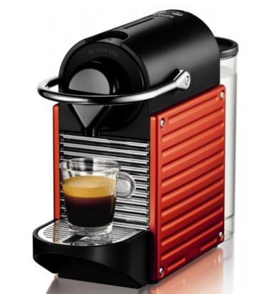 Капсульная кофемашина Nespresso Pixie Electric Red