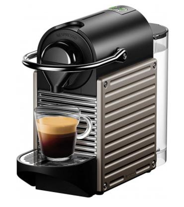 Капсульная кофемашина Nespresso Pixie Electric Titan
