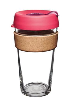 Чашка Keep Cup Large Brew Flutter Cork 454 мл (BCFLU16)