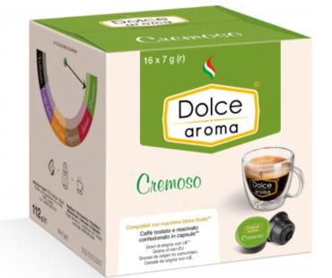 Кофе в капсулах Dolce Aroma CREMOSO Dolce Gusto (16 шт)