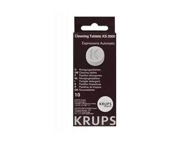 Таблетки Krups (XS3000) для чистки гидросистем от кофейных масел