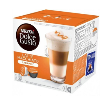 Кофе в капсулах NESCAFE Dolce Gusto Latte Macchiato Caramel (16 шт)