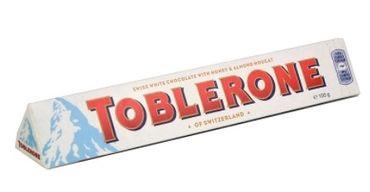 Шоколад белый Toblerone White Chocolate Honey & Almond Nougat 100 г