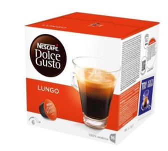 Кофе в капсулах NESCAFE Dolce Gusto Lungo (16 шт)