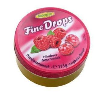 Леденцы  Woogie Fine Drops со вкусом малины 175 г