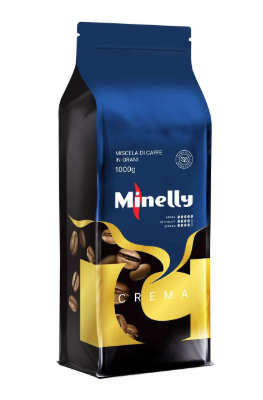 Кофе в зернах  Minelly Crema 1 кг