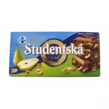 Шоколад Studentska молочный с грушей 180 г