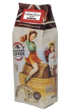 Кофе в зёрнах Montana Coffee Ромовое Масло 500 г