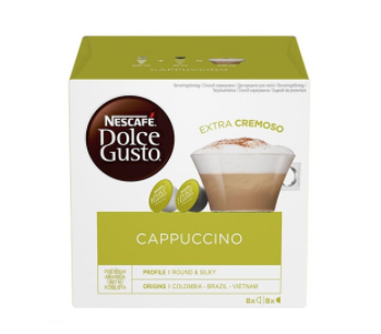 Кофе в капсулах NESCAFE Dolce Gusto Cappuccino (16 шт)