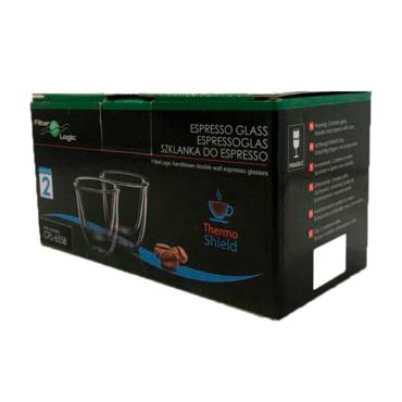 Цена Набор стаканов FilterLogic CFL-655 ESPRESSO 70 мл (2 шт)
