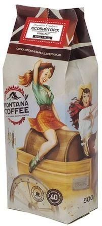 Кофе в зёрнах Montana Coffee Лесной Орех 0,5 кг
