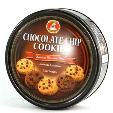 Печенье Patisserie Matheo сливочное с кусочками шоколада ж/б 454 г