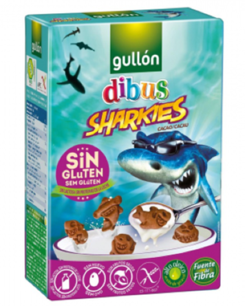 Печенье Gullon Dibus Sharkies - 250 г