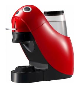 Капсульная кофеварка Dolce Gusto CINO Dolce Aroma Lola A (RED)