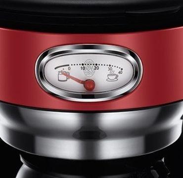 Цена Кофеварка Russell Hobbs 21700-56 Retro Ribbon Red