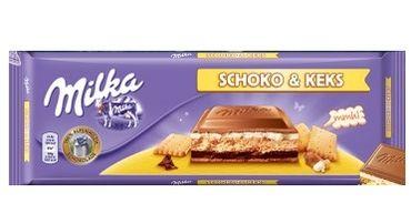 Шоколад Milka Choco Swing Keks 300 г