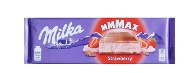 Шоколад Milka Strawberry Fresa 300 г