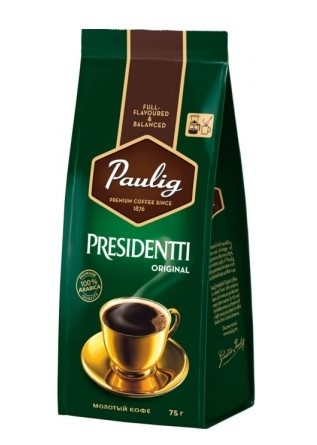 Кофе молотый Paulig Presidentti Original 75 г