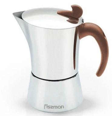 Гейзерная кофеварка Fissman на 6 порций 360 мл (9415)