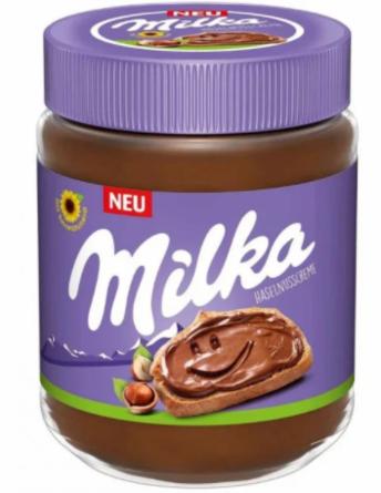 Шоколадная паста Milka Hazelnuss Creme 350 г