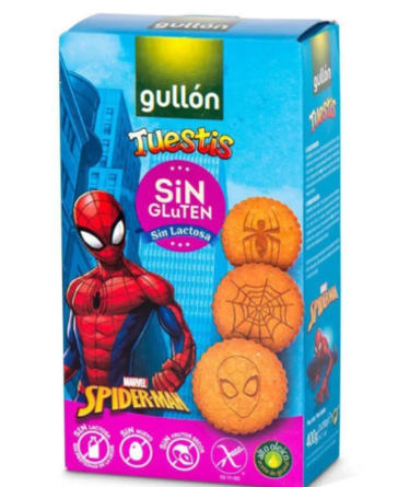 Печенье Gullon Spider-Man Tuestis - 400 г