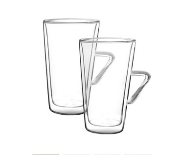 Набор стаканов Filter Logic CFL-675 LATTE с ручкой (2 шт) 400 ML