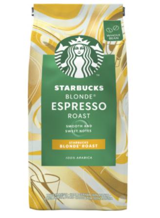Кофе в зернах Starbucks Espresso Roast Blonde 200 г