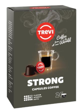 Кофе в капсулах Trevi Strong nespresso - 20 шт