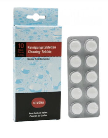 Таблетки для очистки от масел и жиров Nivona NIRT701