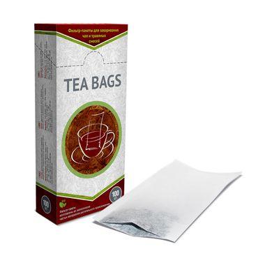 Фильтр-пакеты для заваривания в чайнике (100шт)
