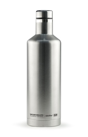 Термобутылка Asobu TIMES SQUARE, 0,45 л, серебристая (SBV15 SILVER)
