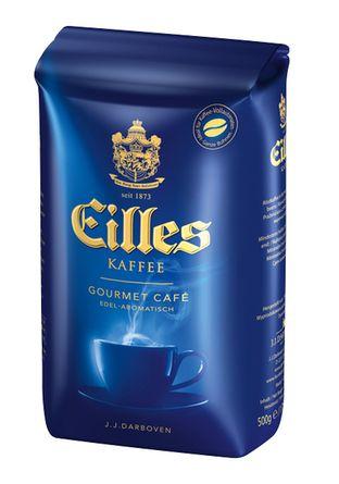Кофе в зёрнах J.J.Darboven EILLES gourmet Cafe 500 г