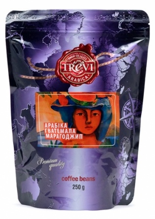 Кофе в зёрнах Trevi Арабика Гватемала Марагоджип 250 г