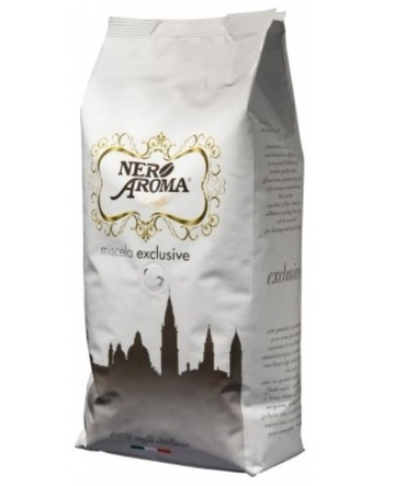 Кофе в зернах Nero Aroma Exclusive 100% Arabica TOP 1 кг