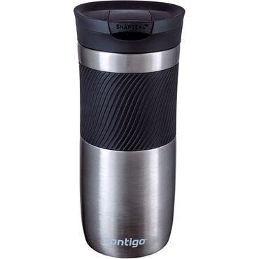 Термокружка Contigo Byron 16 Серый 470 мл (2095558)