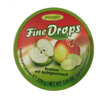 Леденцы Woogie Fine Drops со вкусом яблока 200 г