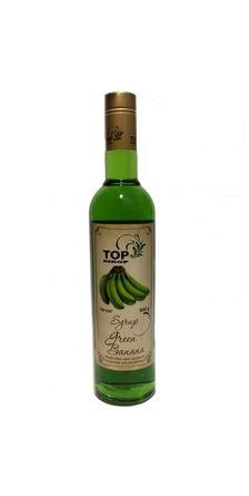 Сироп TOP sirop Зелёный банан 0,9 л