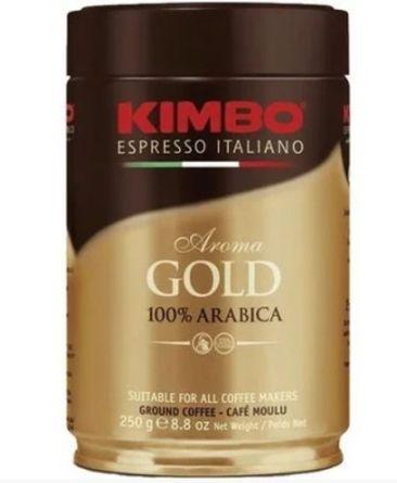 Кофе молотый KIMBO AROMA GOLD 100% ARABICA ж/б 250 г