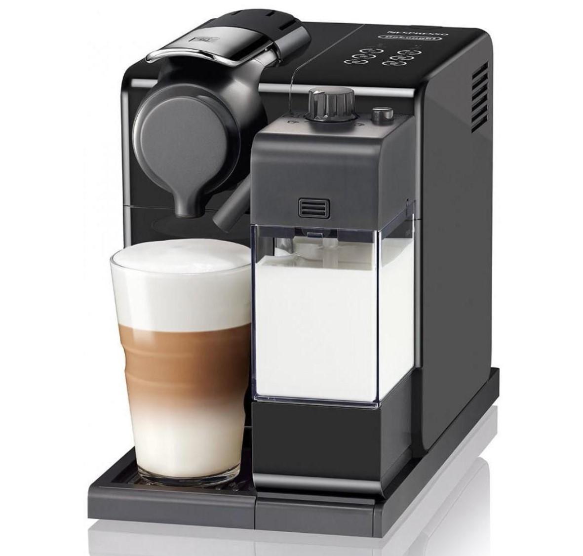 Капсульные кофемашины, Капсульная кофеварка Nespresso Lattissima Touch EN560.B Black, Чорний  - купить со скидкой