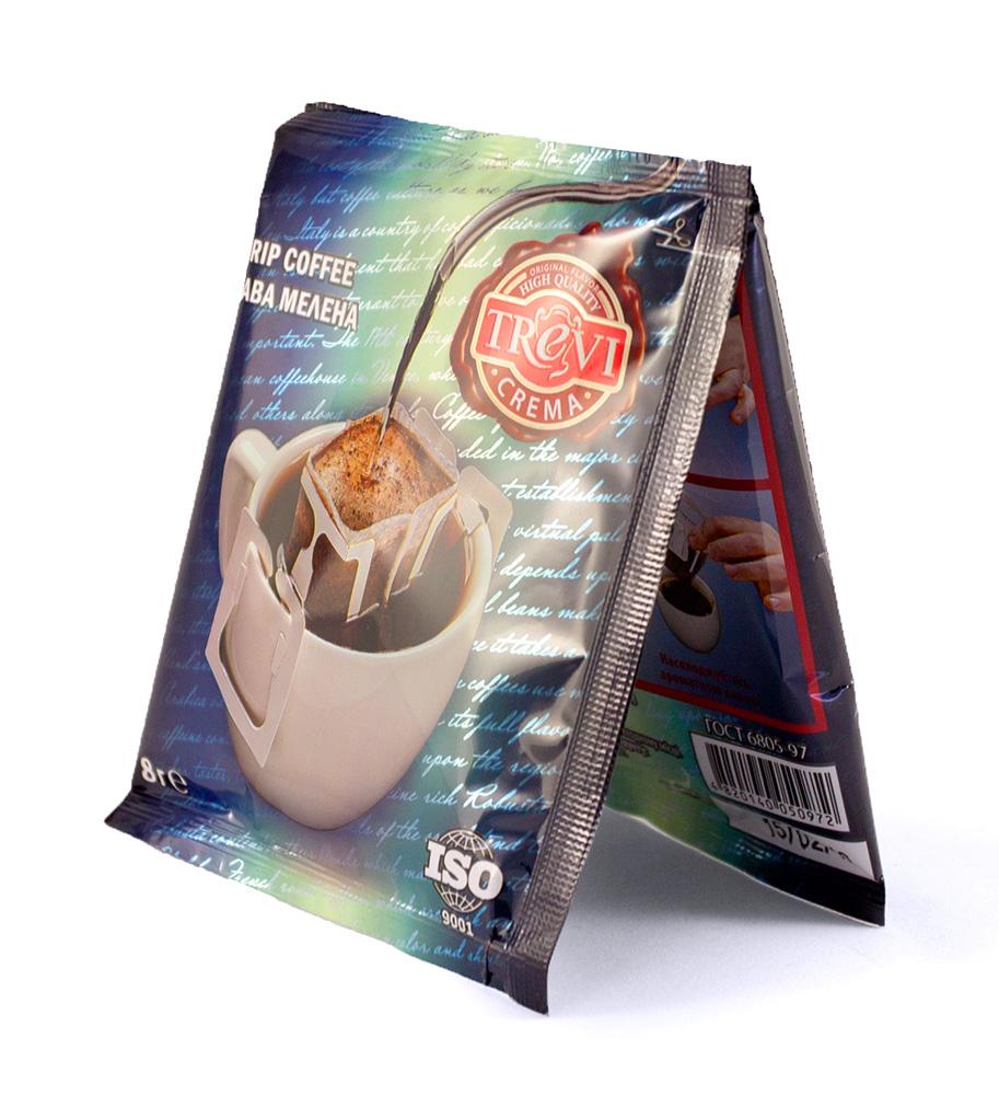Цена Дрип-кофе Trevi Crema пакетик 8 г