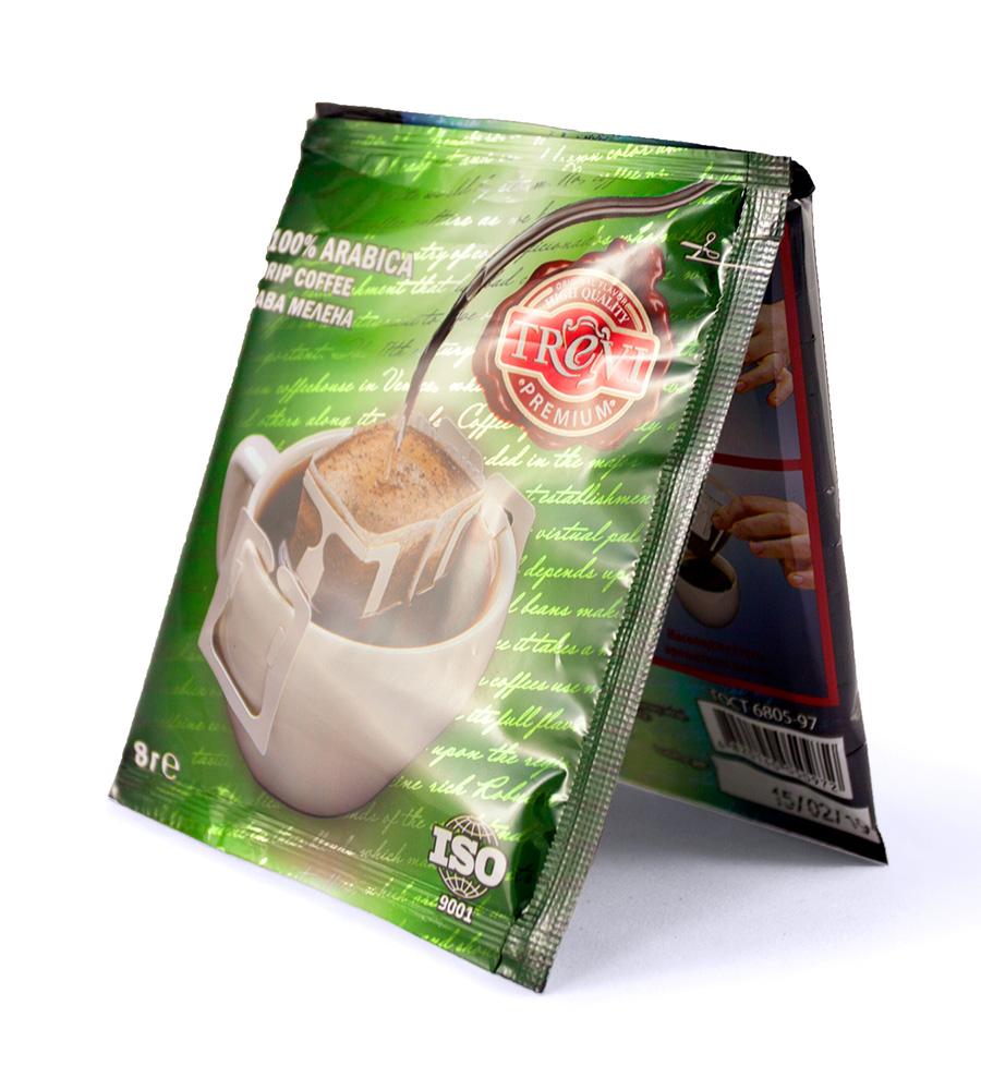 Ящик Дрип-кофе Trevi Premium 50x8 г